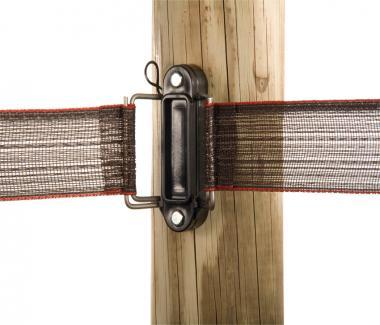 Elektroband ende-/eck-isolator mit Inox Spann